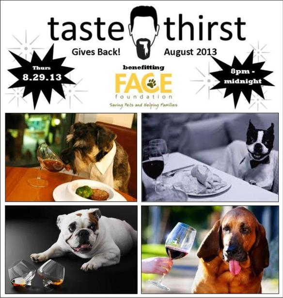 Come to Taste & Thirst Tonight!