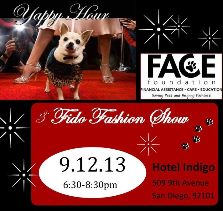Fido Fashion Show and Yappy Hour!