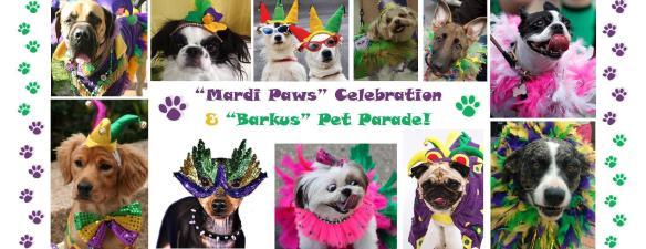 Mardi Paws Celebration and Pet Parade