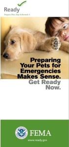 Pet Preparedness FEMA
