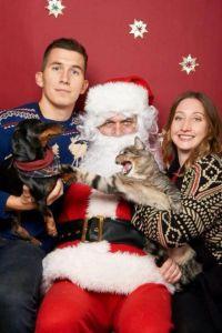 Pets with Santa1