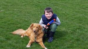 Child dog2