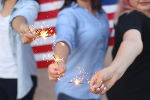 4th sparklers